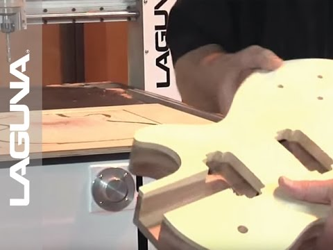 Guitar Making: IQ CNC Router by LAGUNA