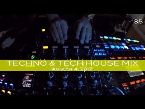 Techno & Tech House Mix Deep Underground House Dance August 4,  2017 60 Minutes