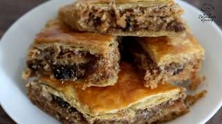 Пахлава, упрощенный рецепт, быстрое приготовление (Домашний кулинар)