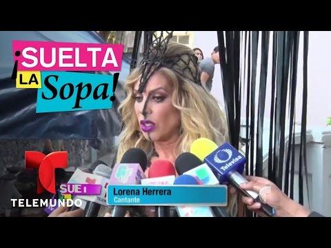 Lorena Herrera enfureció cuando le preguntaron la edad | Suelta La Sopa | Entretenimiento
