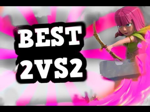 BEST PLAYERS in Clash Royale FACE OFF in 2v2!