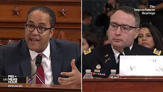 WATCH: Rep. Will Hurd's full questioning of Vindman and Williams | Trump impeachment hearings