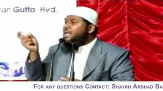 """Arshad Basheer Madani - MEANING OF THE TERM """"ALLAH"""" SWT"""
