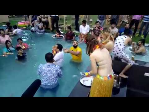 Pool Party At Ramaya Farm House in Delhi