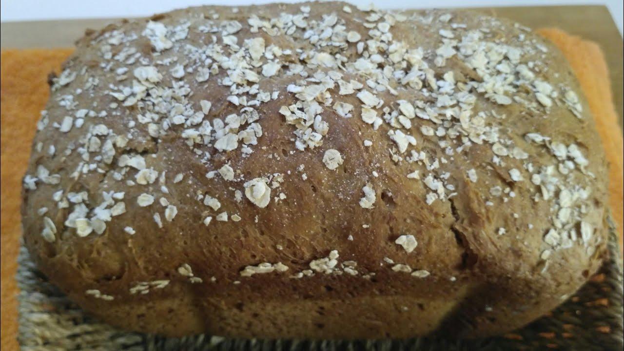 como hacer pan de centeno y avena