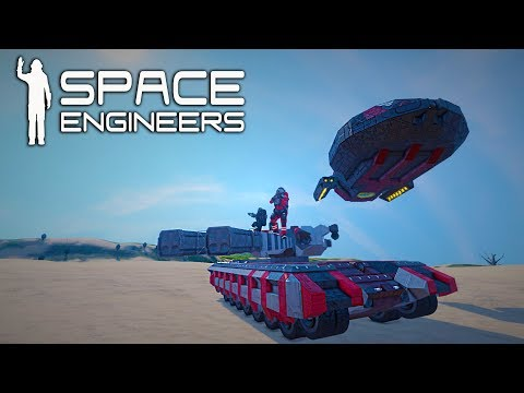 [LIVE] - BUILDING LAND UNITS - Space Engineers - 8 Year YouTube Anniversary