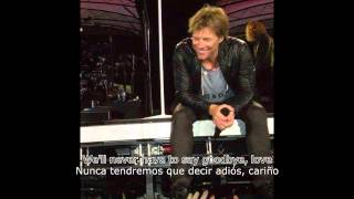 Bon Jovi - Blind Love (Subtítulos Inglés - Español)