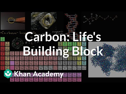 Carbon as a building block of life | Properties of carbon | Biology | Khan Academy