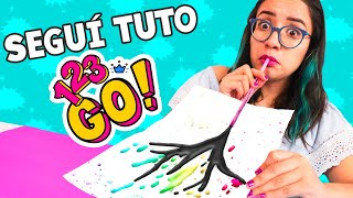 SEGUÍ TUTORIALES DE 123 GO! 😨 ¿Funcionan? ✄ Craftingeek