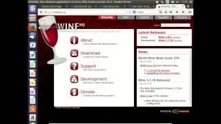 36 Windows programs with Wine