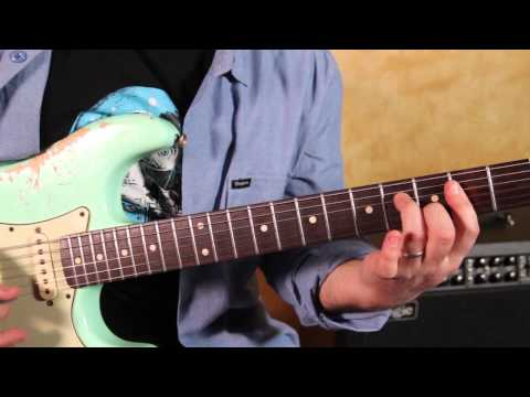 Grateful Dead - Sugar Magnolia - How to Play the Main Riff - Guitar Lesson - Country Blues