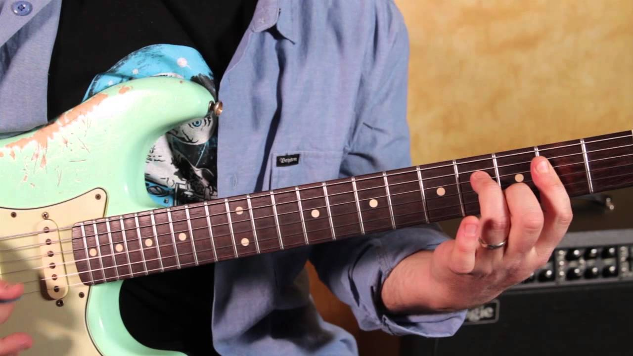 Grateful Dead   Sugar Magnolia   How to Play the Main Riff   Guitar Lesson    Country Blues