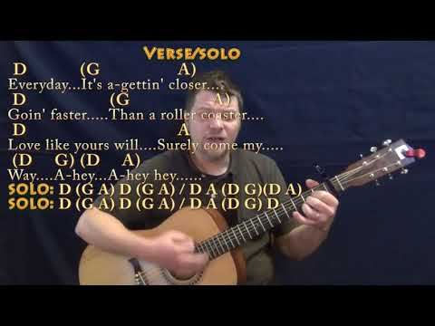 Everyday (Buddy Holly) Guitar Cover Lesson with Chords/Lyrics - Capo 1st