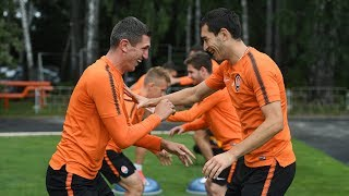 Shakhtar continue preparing for the match vs Veres