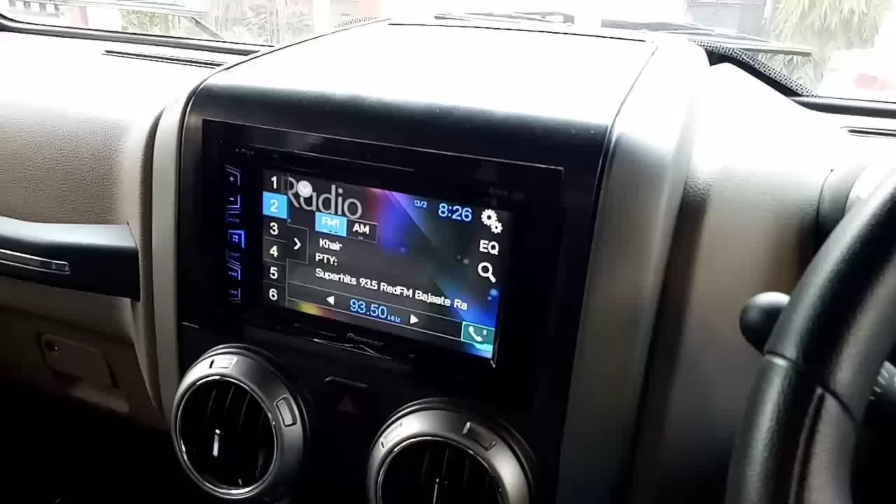 MAHINDRA THAR TOUCH SYSTEM AND BENTLY INTERIOR WITH ...