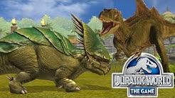 Jurassic World: Das Spiel #46 - PACHYCERATOPS KREUZUNG & die CONCAVENATOR BEGEGNUNG! | LP JW Deutsch
