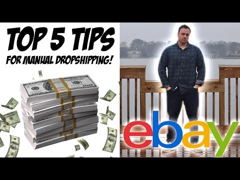 Manual Dropshipping TOP 5 TIPS for eBay thumbnail