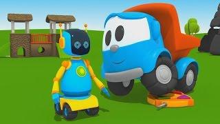Leo Junior baut einen Roboter - Cartoon für Kinder