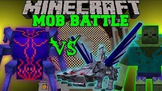 KNIGHT BUG VS MUTANT ZOMBIE & CEPHADROME - Minecraft Mob Battles - Mods