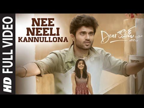 nee-neeli-kannullona-full-video-|-dear-comrade-telugu-|-vijay-deverakonda,-rashmika-|bharat-kamma