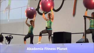 Fit Ball Energy &  Strenght - Eu4ya 2014  Akademia Fitness Planet thumbnail