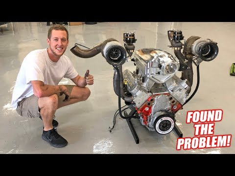 Yanking Out Leroy's 1500hp LSX Heart... Compression Test Revealed Injured Eagles!