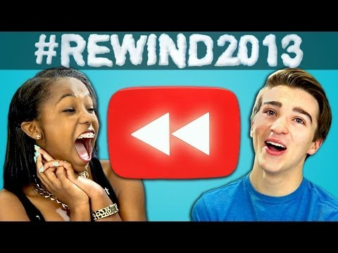 Teens React To Youtube Rewind What Does 2013 Say Youtube