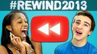 Teens React to YouTube Rewind: What Does 2013 Say?