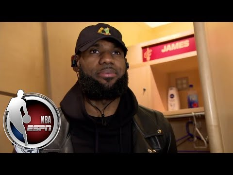 Download Youtube: LeBron James on Lonzo Ball: 'He's a really good player' | ESPN