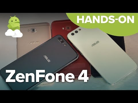 ASUS ZenFone 4 hands-on - ZF4 + Pro + Selfie!
