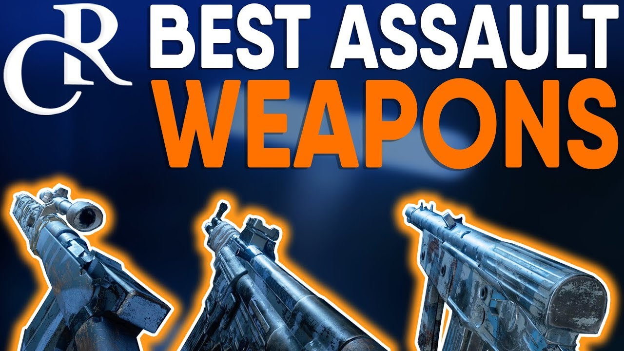 Battlefield 5 - BEST Assault WEAPONS Tutorial/Guide - Battlefield V How to