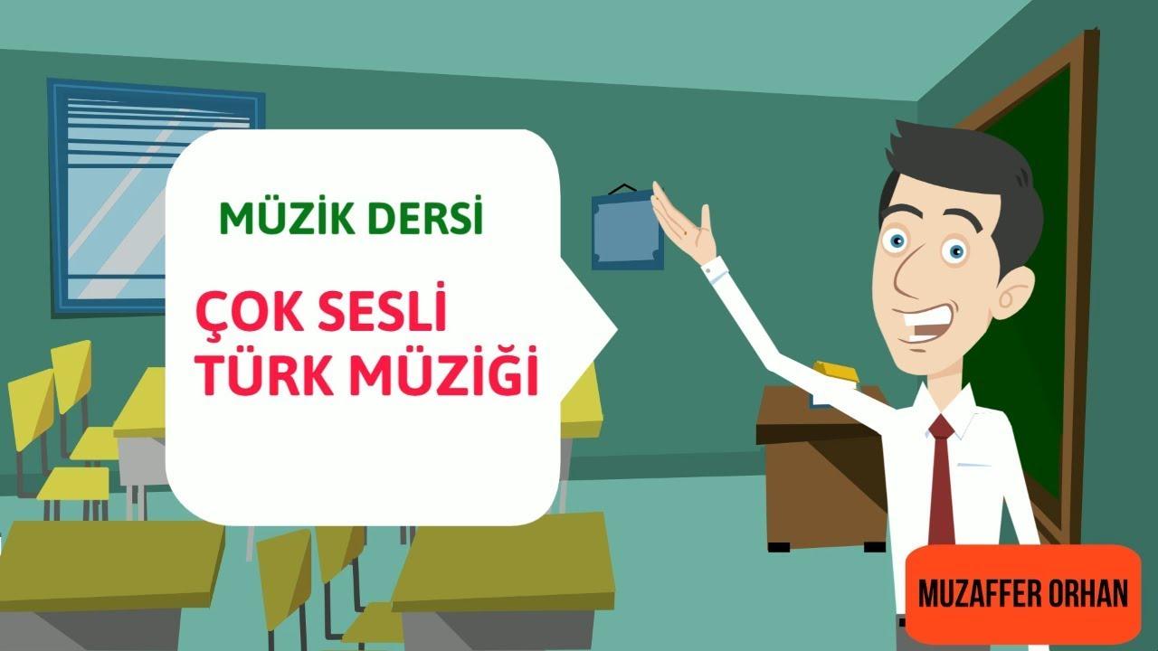 Cok Sesli Turk Muzigi Animasyonu Muzik Dersi Youtube