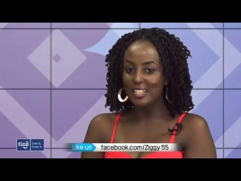 Sandrine Isheja muri B Side (Ziggy) Last Interview for 2015