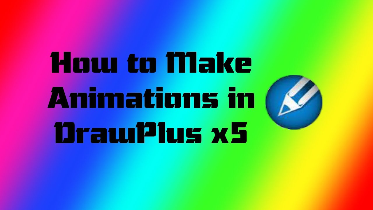 How To Make An Animation In Serif Drawplus X5 X6