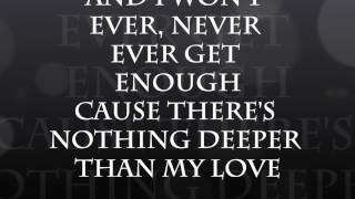 Josh Turner - Deeper Than My Love Lyrics