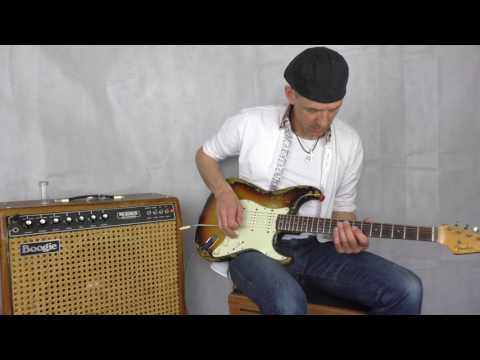 1977 Mesa Boogie Mark 1 with 1962 Fender Stratocaster