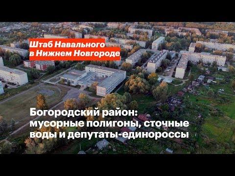 Проект «Районы». Богородск: экологические проблемы