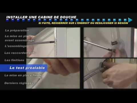 Les briconautes comment installer une cabine de douche for Installer une douche exterieure