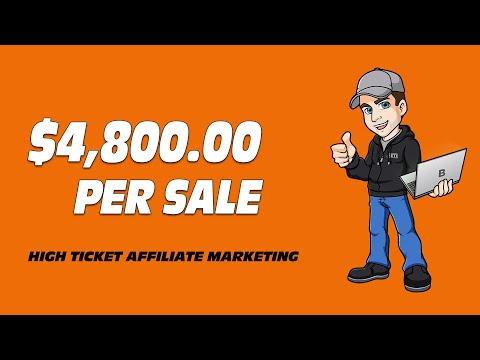 High Ticket Affiliate Programs I'm Promoting Right Now