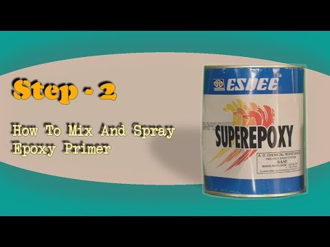 Step 2 - How To Mix And Spray Epoxy Primer