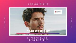 Carlos Right nos habla de 'Borrándote', su nuevo single