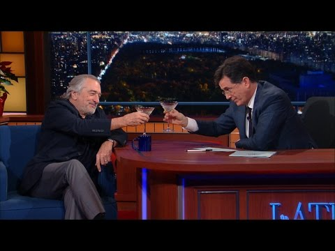 Robert De Niro Enjoys A Cold Martini And Silence, Part 1