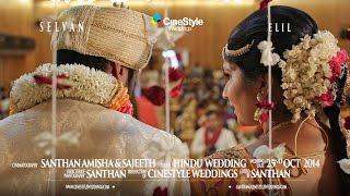 TAMIL HINDU WEDDING SELVAN & ELIL