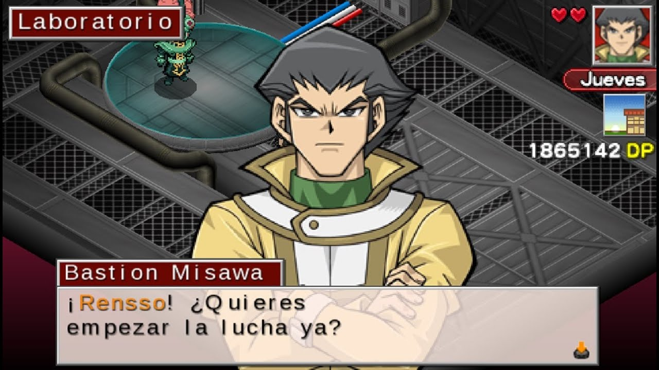 Yu gi oh gx tag force 3 bastion misawa modo historia evento 2 youtube