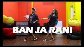 Ban Ja tu meri Rani song dance choreography Randhawa | Tumhari Sulu | Vicky & Aakanksha
