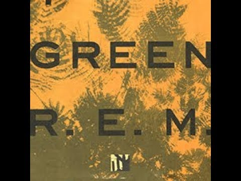 World Leader Pretend REM 1988 LP Green