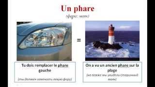 Уроки французского #76: Слова-омонимы во французском языке (часть 2)! Les homonyms français