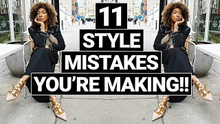 STOP MAKING THE SĄME FALL MISTAKES!! FASHION MISTAKES RUINING YOUR STYLE!!