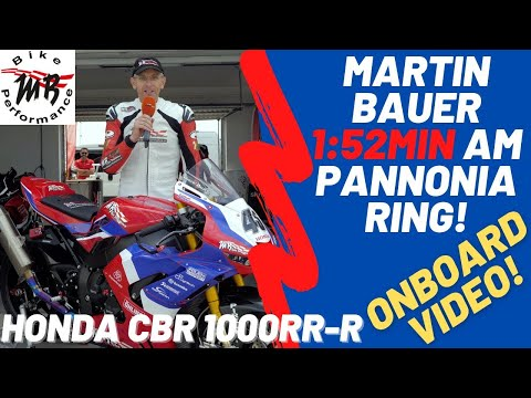 Martin Bauer Pannonia-Ring Rundenrekord - 1:52,93 min auf Honda CBR 1000RR-R 2021