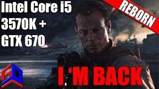 Battlefield 4 - Intel Core i5 3570K, GTX 670